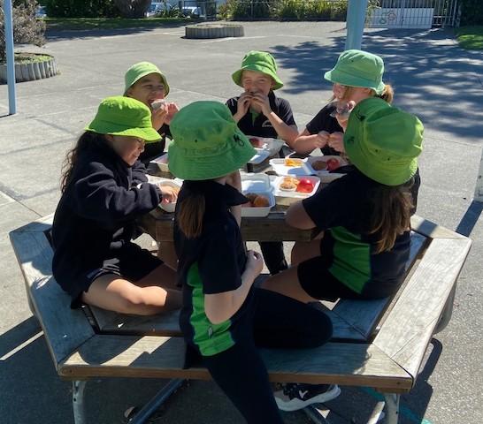 Healthy Lunches in Schools, Meeanee School