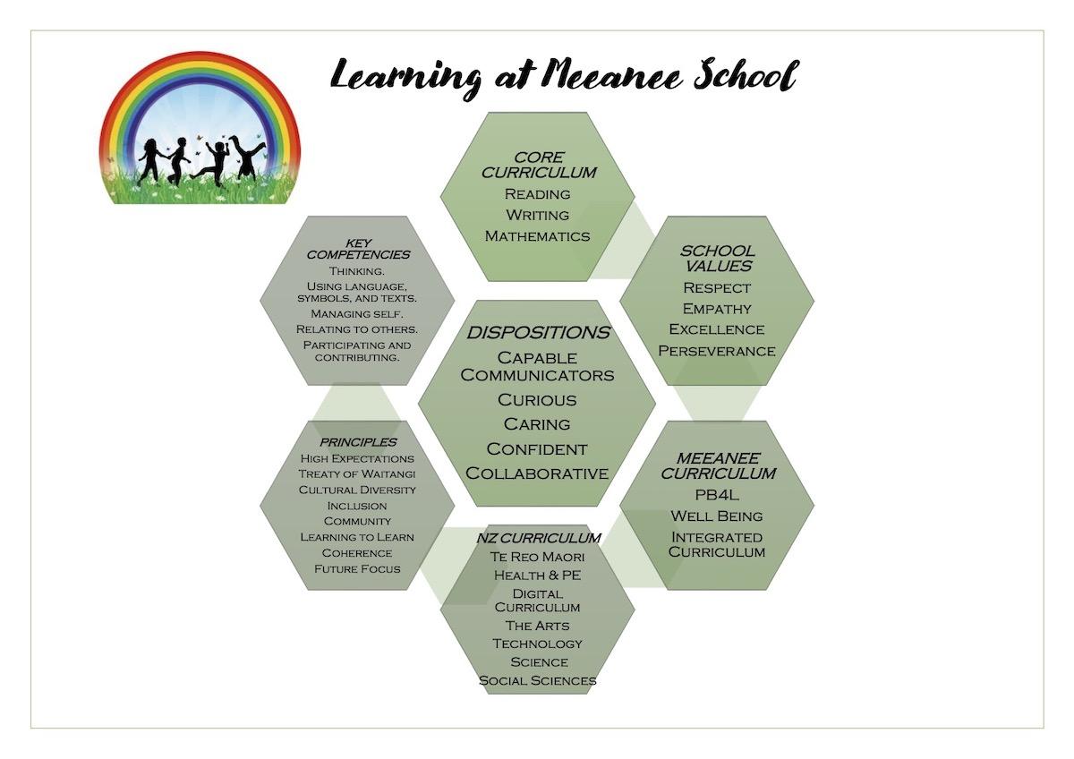 Learning at Meeanee School, Meeanee School